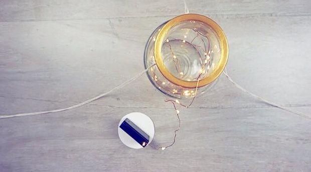 Гирлянда для светильника