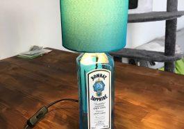 Лампа из бутылки