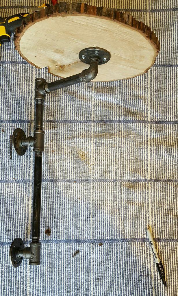 Труба с полочкой