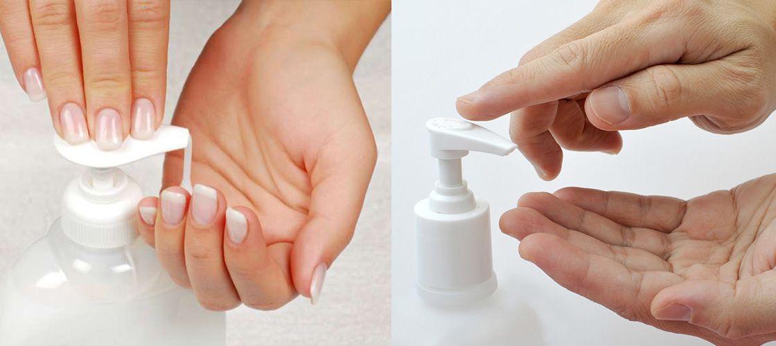 Руки с мылом