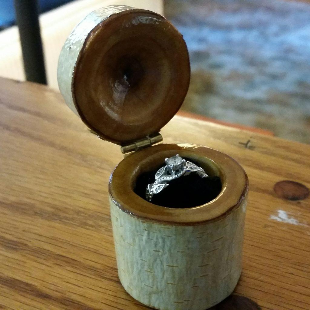 Коробочка для кольца