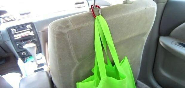 Закрепление сумки