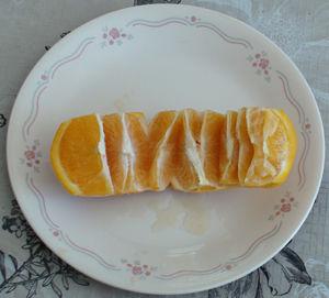 Тарелка с фруктом