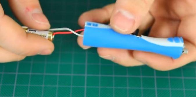 Провода к батарейке