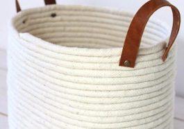 Плетеная корзина