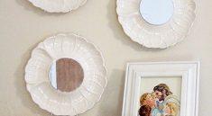 Зеркала из тарелок