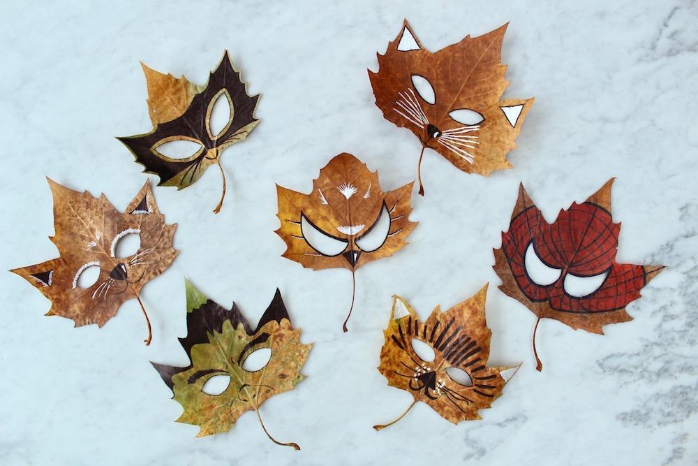 Листья-маски