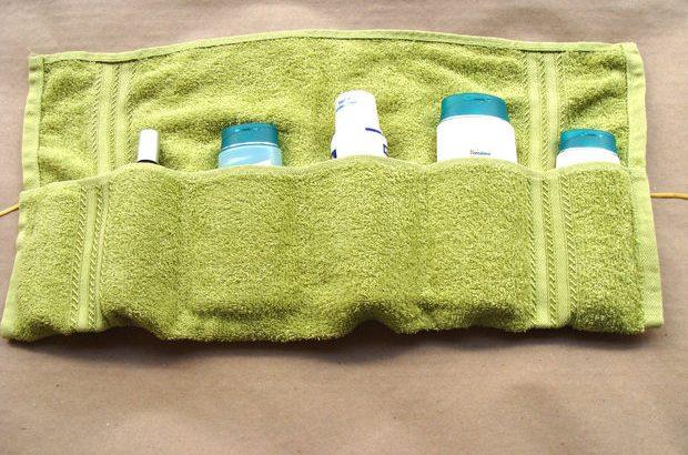 Органайзер из полотенца