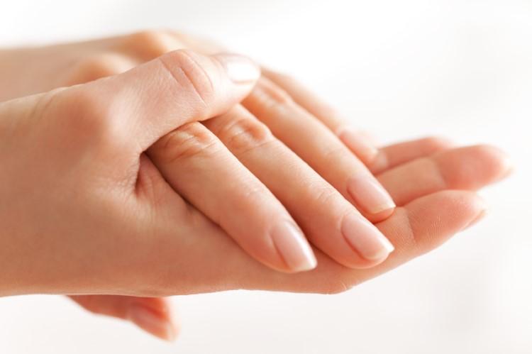 Руки после масла