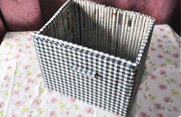 Ящик из газет