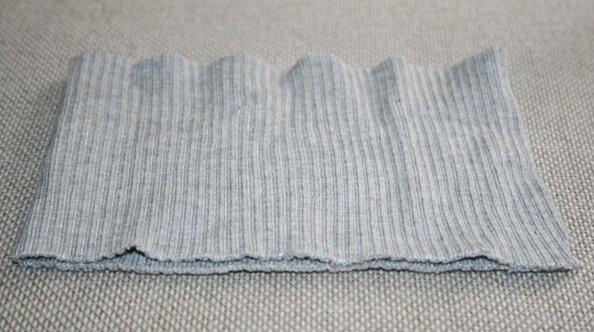 Часть свитера