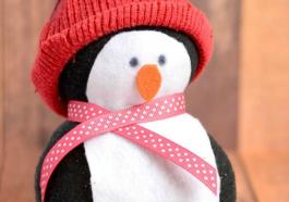 Бесшовный пингвин