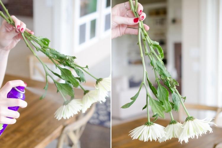 Распылить на цветы