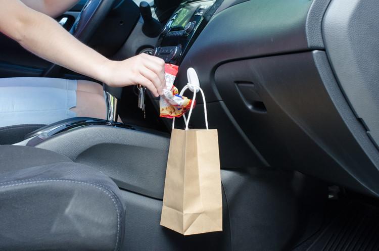 В автомобиле
