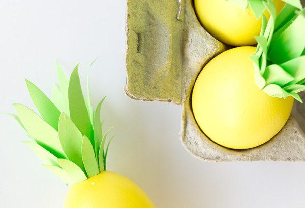 Яйца-ананасы к Пасхе