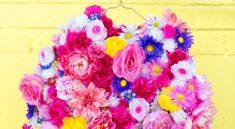 Цветочный бомбер