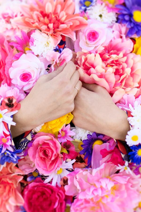 Цветочный жакет