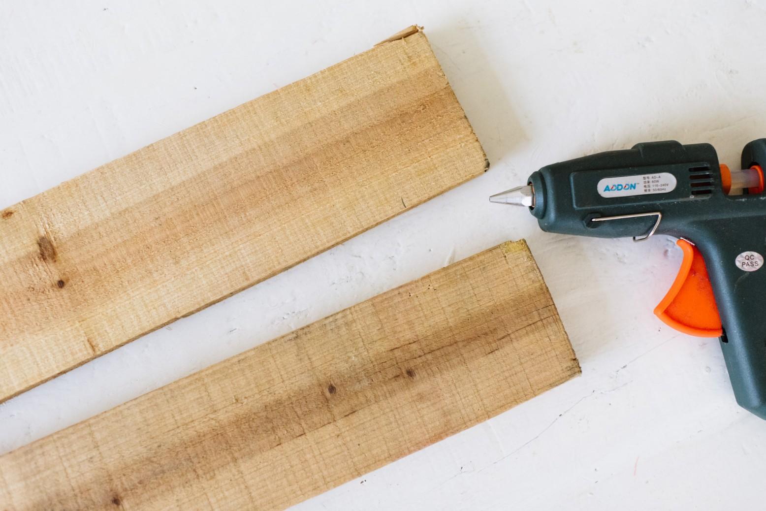 Склеить доски