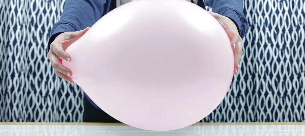Шарик розовый