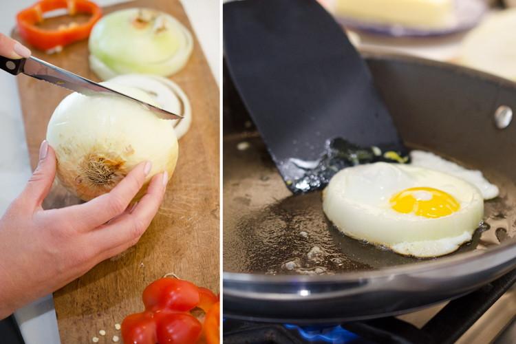 Яйцо в луке