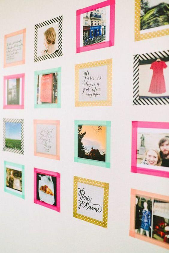 Как повесить фотографию на стену