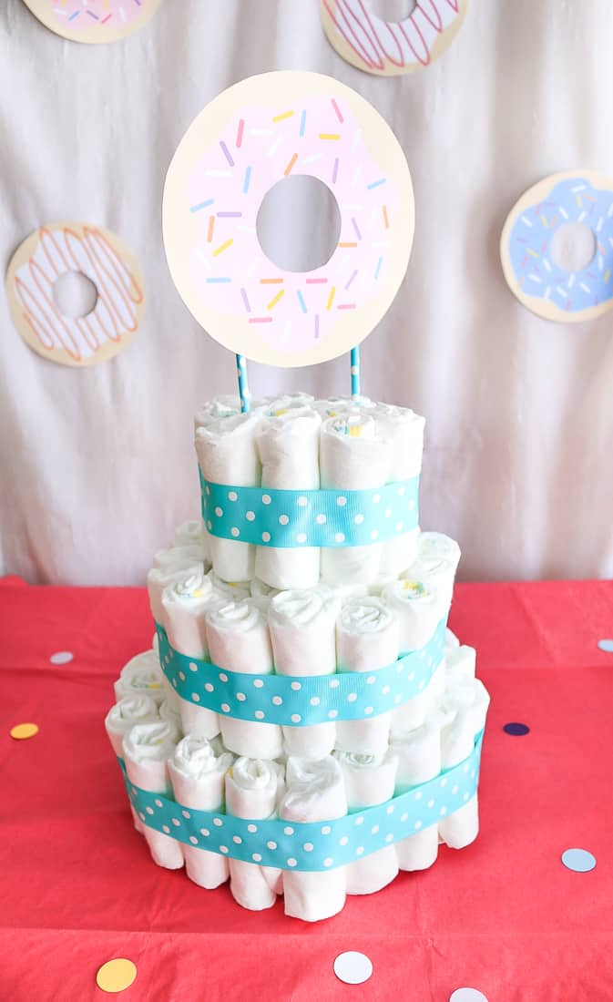 Торт из памперсов