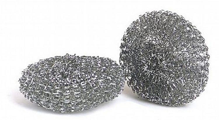 Лайфхаки с металлической губкой