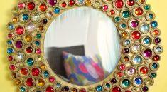 Зеркало в стиле бохо