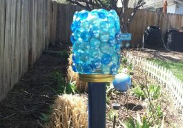 Садовый фонарик