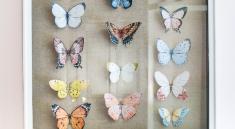 Бабочки на картине
