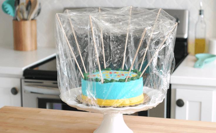 Торт для переноски