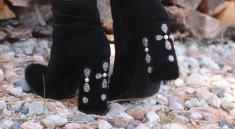 Как украсить осеннюю обувь