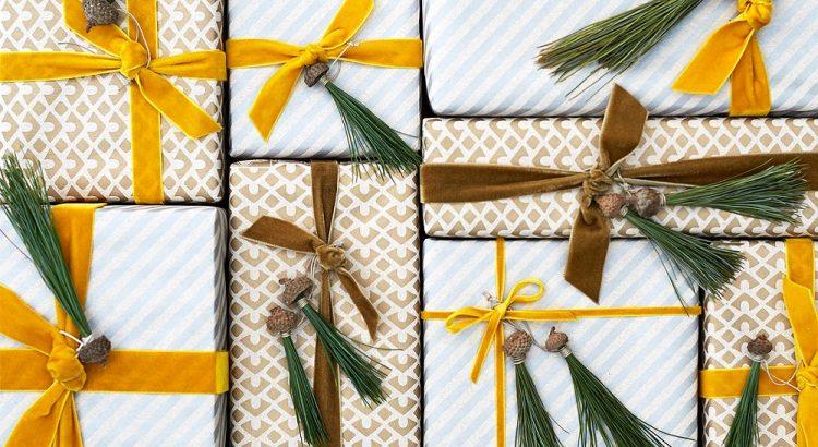 Декор для упаковки подарка