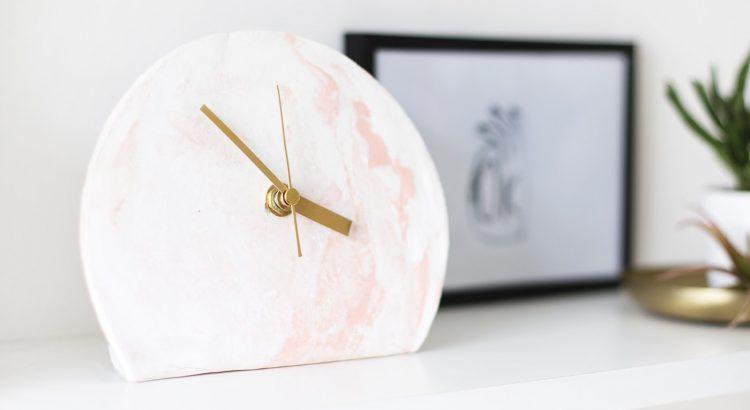 Часы из полимерной глины