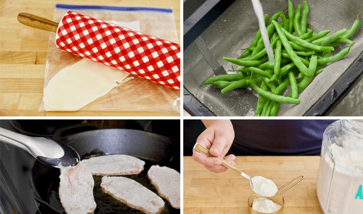 Приготовление еды, ошибки