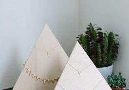 Пирамидка для цепочек
