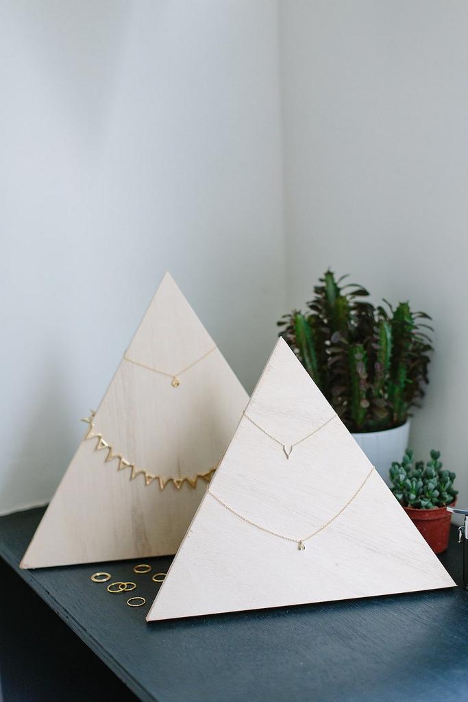 Пирамида из фанеры