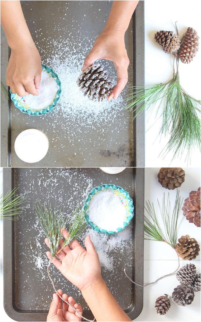 Соль для снега