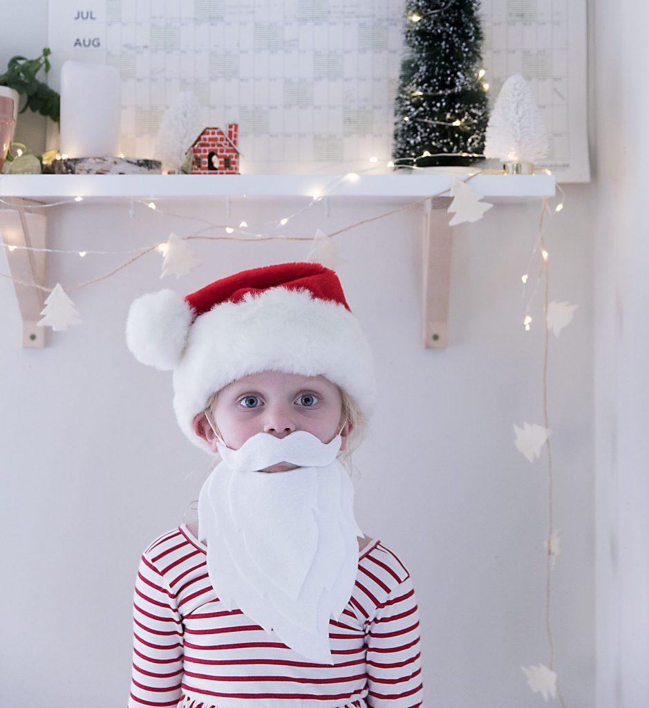 Как сделать бороду деда Мороза