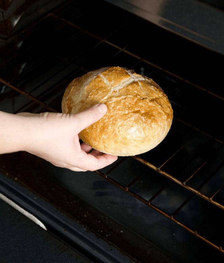 Хлеб в духовку