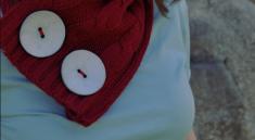 Как сделать шарф из свитера