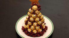 Елка из Ferrero Rocher