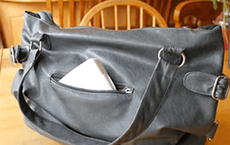 В сумке