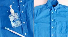 Удаление краски с одежды