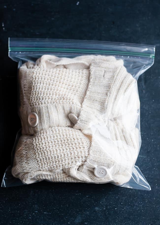Как остановить облысение свитера