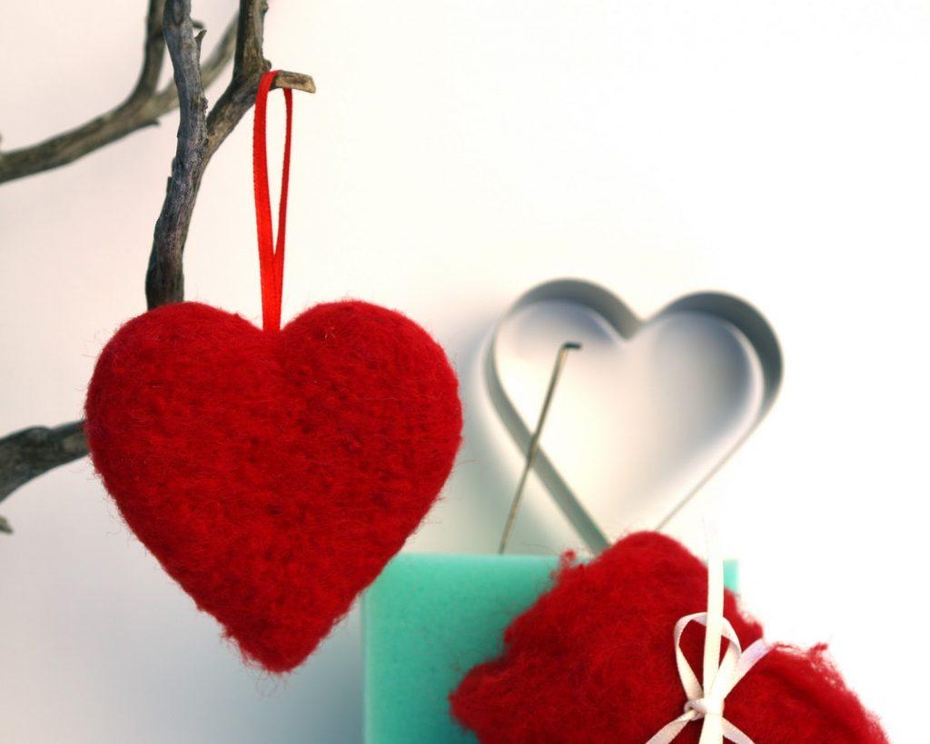 Сердце из войлока