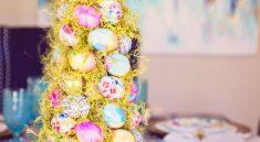 Пасхальная елка из яиц