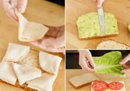 Бутерброды и сэндвичи