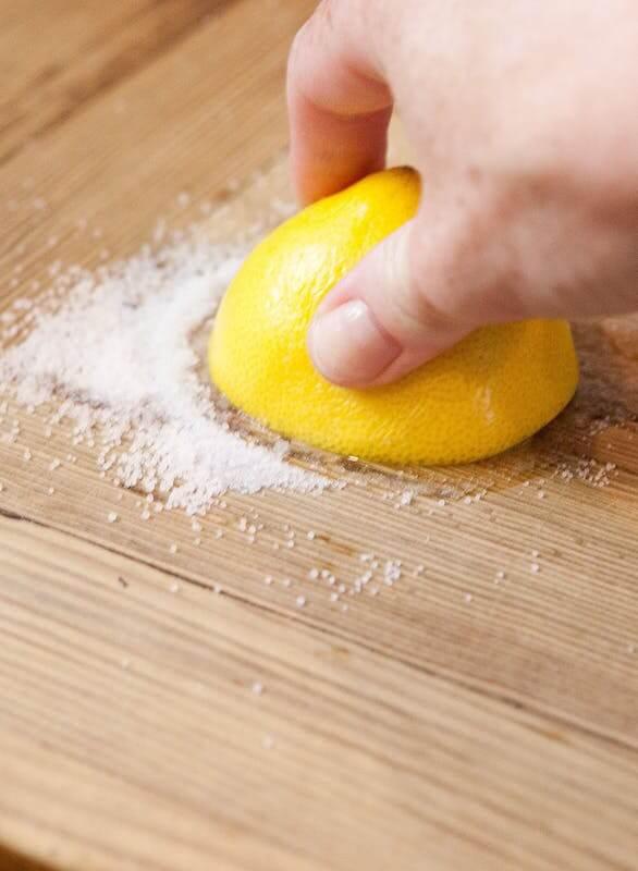 Соль и лимон