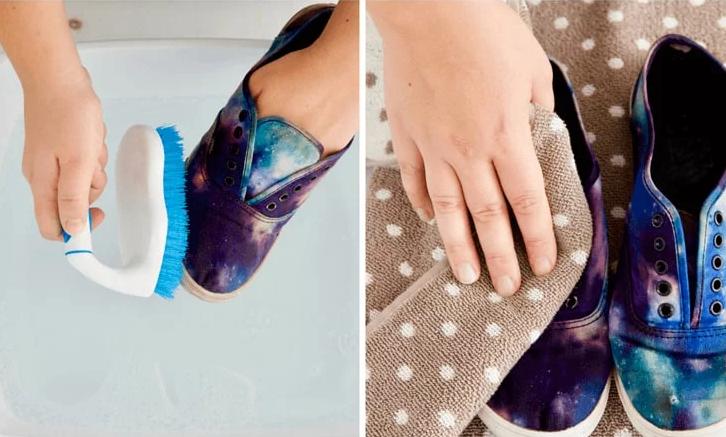 Как почистить кеды